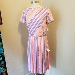 Vintage new old stock Toni Todd 1960 spring dress